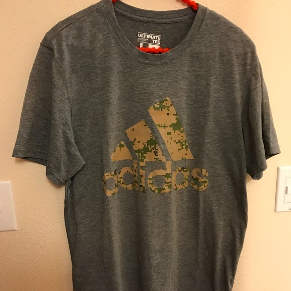 a59d1eff8a adidas Other - Men s Adidas Grey Ultimate T-shirt. Size Large. M6